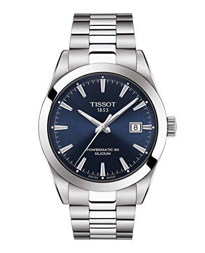 Tissot Herrenuhr Gentleman Powermatic 80 Silicium T127.407.11.041.00