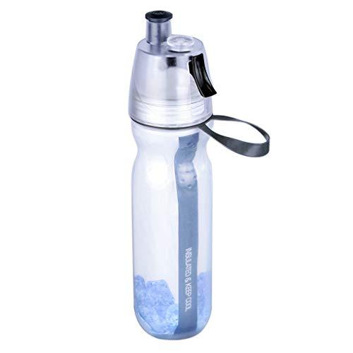 Junecat Sport Drink Spray Wasserflasche im Flasche Wasser Sprühflasche Wasserflasche Freien Fahrrad-Radfahren Wandern Camping Sport Trinkflasche Container Cup 500ml