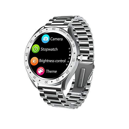 HQHOME Klassisch Fitness Armband, Smartwatch Wasserdicht IP68, Voller Touchscreen Farbbildschirm Aktivitätstracker Pulsuhren Pulsmesser Schrittzähler Uhr Smart Watch Fitness Uhr
