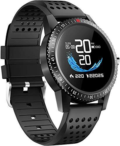 Smartwatch Blutdruck Fitness Armbanduhr mit Pulsuhren IP68 Wasserdicht Smart watch Fitness Uhr Aktivitätstracker Schrittzähler Schlafmonitor Kalorienzähler Sportuhr Damen Herren für iOS Android Handy