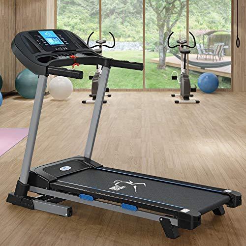 ArtSport Laufband Speedrunner SR1620 elektrisch klappbar   16 km/h Geschwindigkeit   12 Programme   120 kg belastbar   Fitness Heimtrainer Jogging