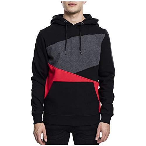 YXIU_Kleidung YXIU Herren Kapuzenpullover Hoodie Pullover Sweatjacke Hoodie Baumwollmischung Outdoor Sport Street