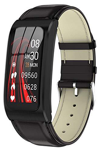 Fitnessuhr Damen Smartwatch mit Blutdruckmessung Pulsuhr mit Blutdruck Android IOS Armband Uhr Schrittzähler IP68 Wasserdicht Sport Herren Fitness Tracker