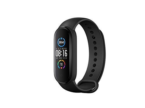 "Xiaomi Mi Smart Band 5 Fitness- & Aktivitätstracker mit 1,1\"" Full AMOLED Touch Farb-Display"
