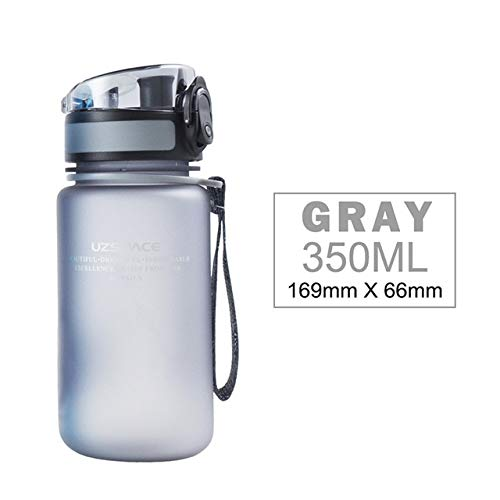 Mdsfe 350ML Wasserflasche Kinder süß Shake Cup Sportgetränk Meine Wasserflasche tragbare auslaufsichere umweltfreundliche Plastikgetränk - 350ml, Pink