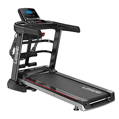 AP Auple Laufband, motorisiert, elektrisch, zusammenklappbar, 2,5 CHP-Motor bis zu 12,8 km/h, 12 Programme, tragbares Fitnessgerät für Fitness-Workout
