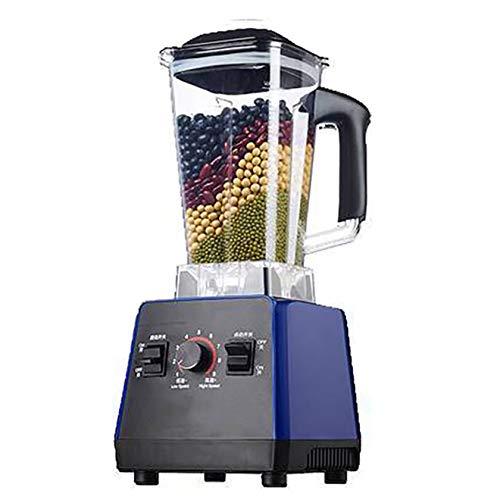 BLLXMX Standmixer Smoothie Maker, Smoothie-Maschine Mit Neun-Geschwindigkeits-Einstellung, Hochleistungs-Sojabohnenmilchmaschine Mit 1500 W / 2000 W