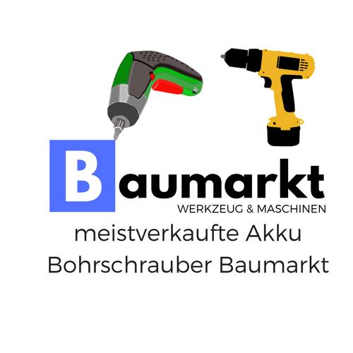 Akku Bohrschrauber Baumarkt von Baumarkt Werkzeug & Maschinen