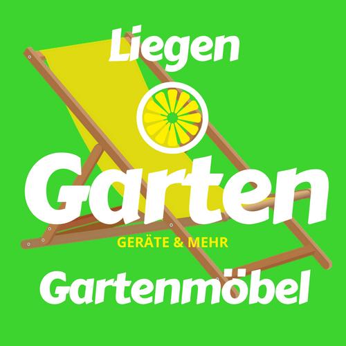 Liegen Gartenmöbel in Garten