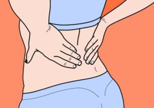 Die Rolle für den Rücken